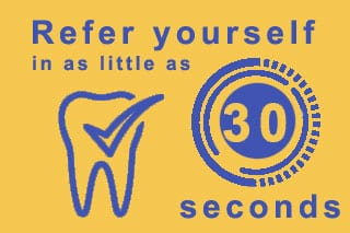 Self referral for dental treatment